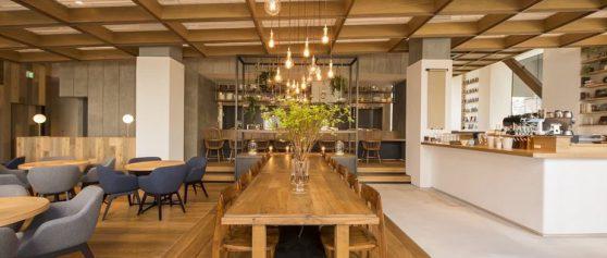 開放感溢れる喫茶室|大塚エイトデイズカフェ
