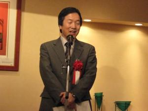 文化商工部長東澤様