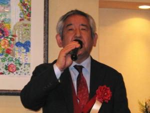 (社)中小企業診断協会 東京支部城西支会 野村支会長