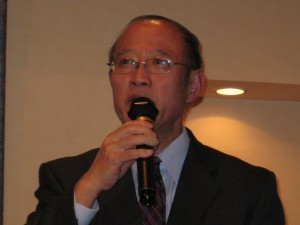 NPO法人杉並中小企業診断士会 中村理事長